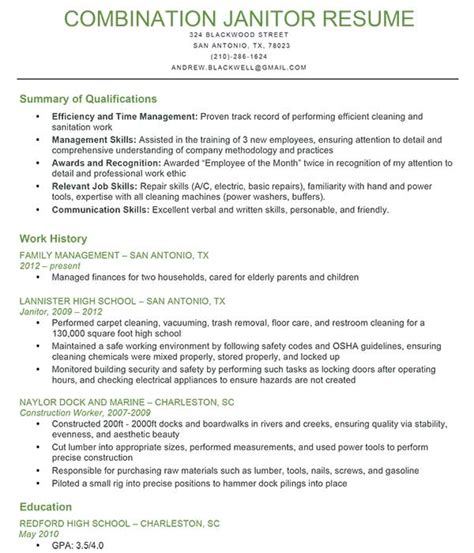 example qualifications for resume resume summary of