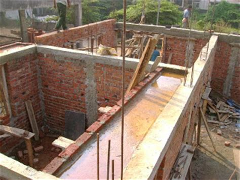 kerala house construction tips 5 wall and lintel kerala house construction at kaloor cochin february 2009