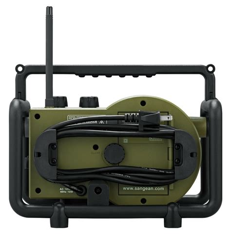 rugged fm radio sangean tb 100 toughbox rugged digital radio dust and shock resistant am fm radio