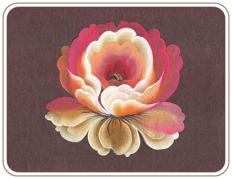watercolor lotus tutorial tagil rose lesson 1 super tutorial ציור על עץ