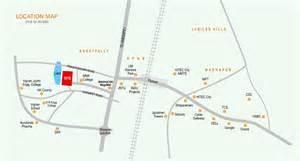 2 Bhk Apartment Floor Plans Overview The Nest At Near Jntu Kukatpally Pranit