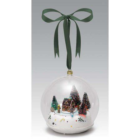 walgreens musical christmas large ornament mr glass gingerbread house musical ornament walmart