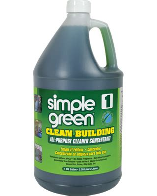 simple green industrial clean building all purpose cleaner