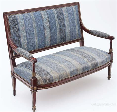mahogany sofa antique french early 20c carved mahogany sofa settee antiques atlas