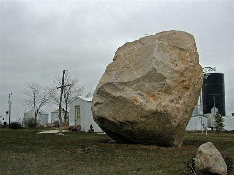 file big rock in a field jpg