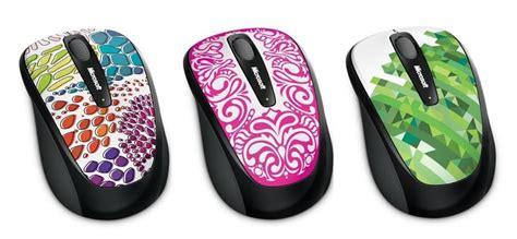 colorful microsoft wireless mouse  series gadgetsin