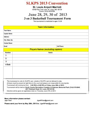 Printable Basketball Tournament Waiver Form Template Edit Fill Out Download Form Templates 3 On 3 Basketball Tournament Registration Form Template