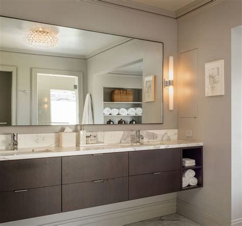 Suspended Bathroom Vanity Diy Floating Vanity With Vessel Sinks Home Ideas