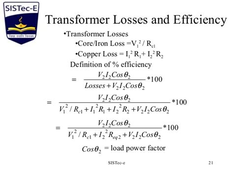 transformer impedance and efficiency single phase transformer