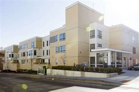 Brookline Housing Authority by Colantonio Inc Completes 86 Dummer A New 32 Unit