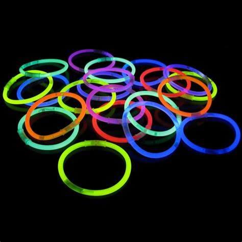 Halloween Decorations Made At Home glow sticks necklace and bracelet party packs
