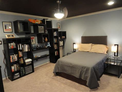 Masculine Bedroom Contemporary Bedroom philadelphia by Mind Your Manors