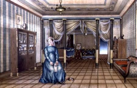 Sitting In This Room Russian by A Spinster In A Neo Classical Sitting Ro Russian School