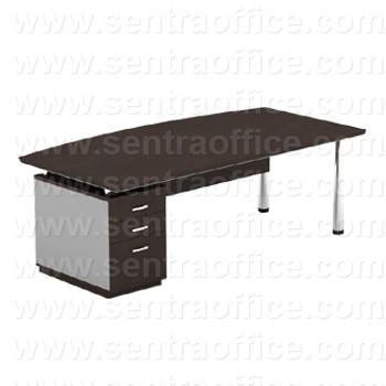 Meja Direksi jual executive desk left modera drt 1812 05 l murah