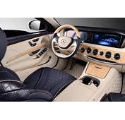 W222 Mercedes S Guard Interior Wrapped In Crocodile Leather