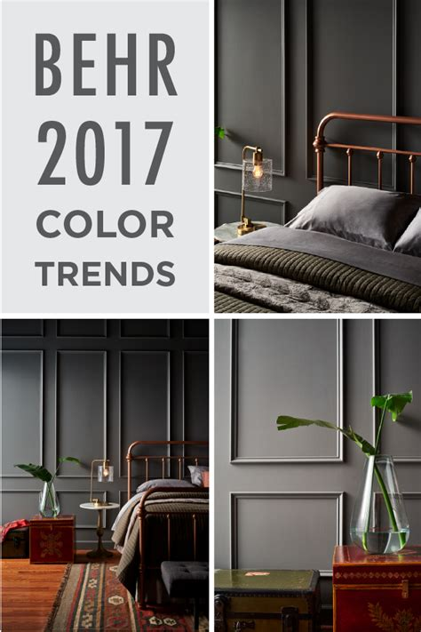 2017 interior paint color trends add a chic and glamorous feel to your home by