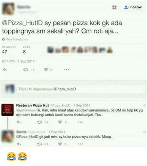 Pinguin Top Atasan Aja Yah 25 best memes about pizza hut pizza hut memes