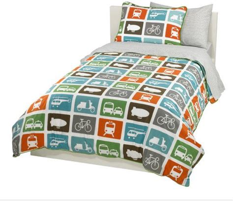 transportation toddler bedding dwellstudio transportation duvet set dwell studio