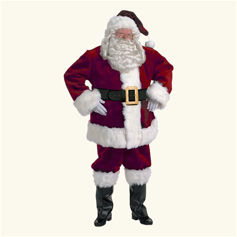 halco majestic santa claus costume santa co llc