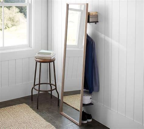 Pottery Barn Floor Ls Clothing Rack With Floor Mirror Pottery Barn