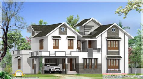 Modern Home Design 3000 Square Feet Modern 4 Bedroom Kerala Home Elevation Home Appliance