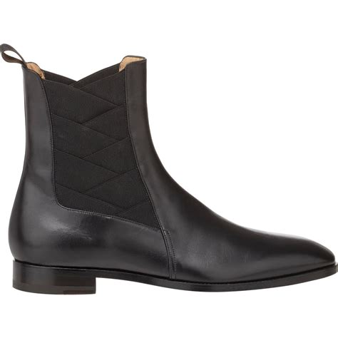 louboutin boots for christian louboutin brian chelsea boots in black for