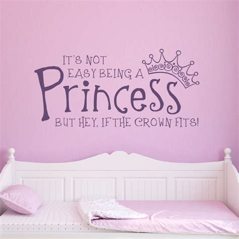 Little Girls Bedroom Ideas by Princess Wall Decals