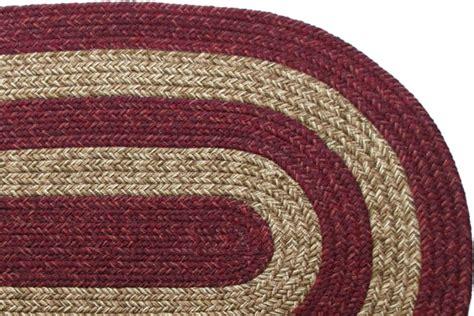 burgundy braided rug ohio country burgundy brown braided rug