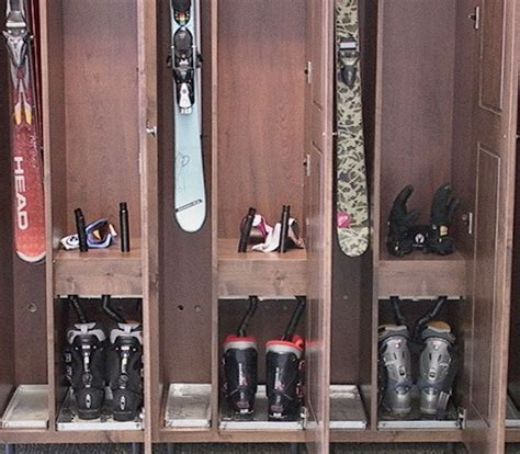 do it yourself diy sports changing rooms ski locker rooms garage storage pinterest lockers