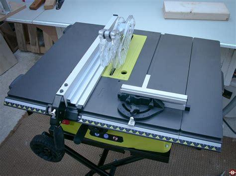 test de la scie sur table filaire ryobi rts 1800 ef zone