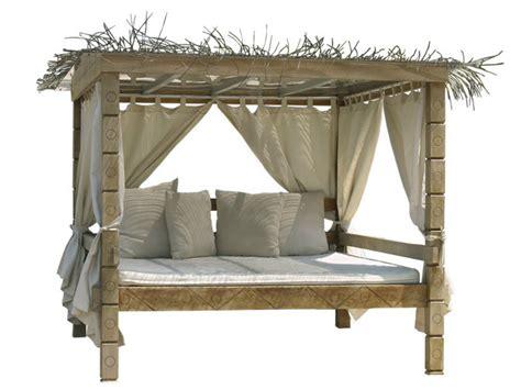 letto a baldacchino in legno letto da giardino matrimoniale in legno a baldacchino
