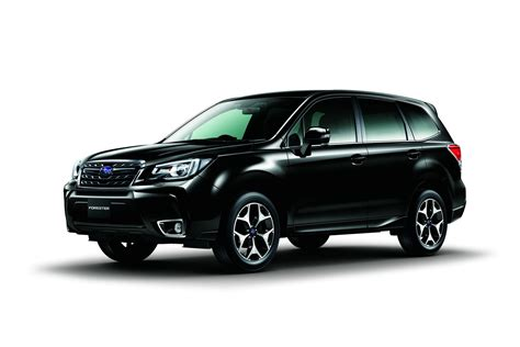 2017 subaru forester 2017 subaru forester facelift revealed ahead of tokyo