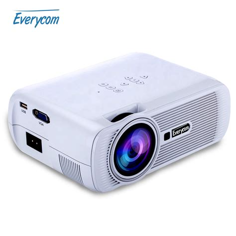 Tv Led Mini 2016 everycom x7 mini projector hd 1080p