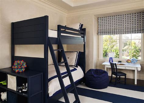 navy curtains boys room navy kids bedroom with navy bunk beds transitional boy