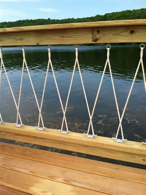 model boat deck cleats close up of deck railing with cleats and rope dock