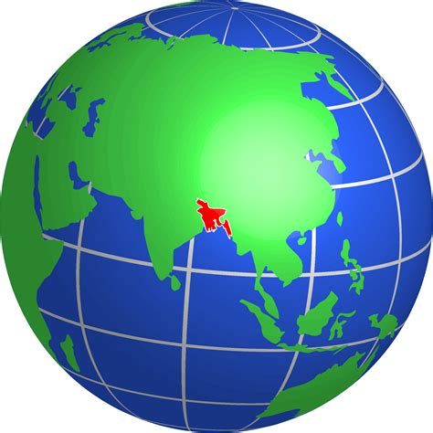 globe maps images clipart bangladesh globe