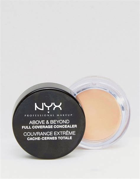 Nyx Coverage Concealer nyx nyx concealer jar at asos