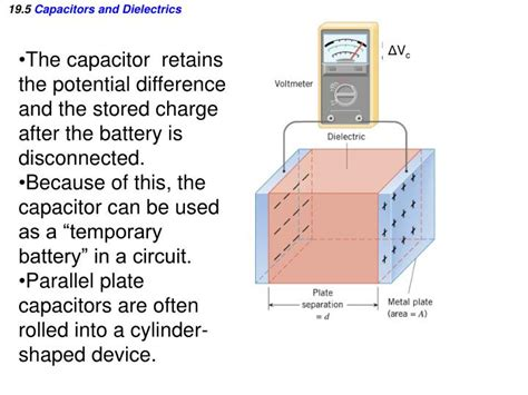 what is the difference between capacitor and battery ppt electric potential and electric potential energy powerpoint presentation id 1336479
