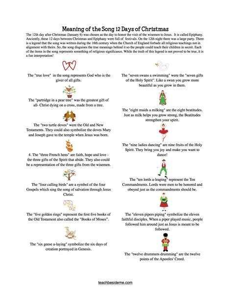 meaning of the 12 days of christmas learntoride co