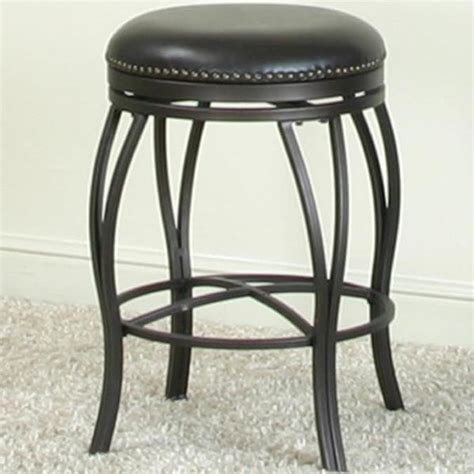 Royal Furniture Bar Stools by Cramco Inc Monza Swivel Counter Stool With Nail Trim