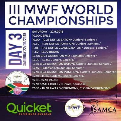 mwf iii. majorette sport world championship cape town/20