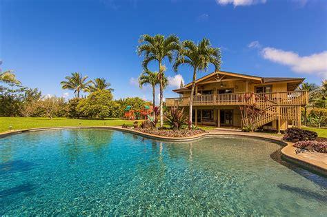 Kauai Vacation Homes At Anini Beach Kilauea House Rental Kauai