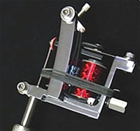 tattoo machine for left hand national precision swing gate tattoo machine head left hand