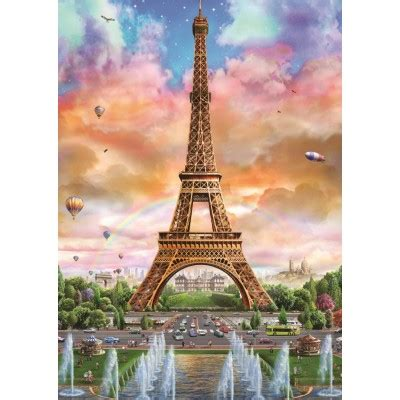 puzzle eiffel tower paris jumbo   pieces jigsaw