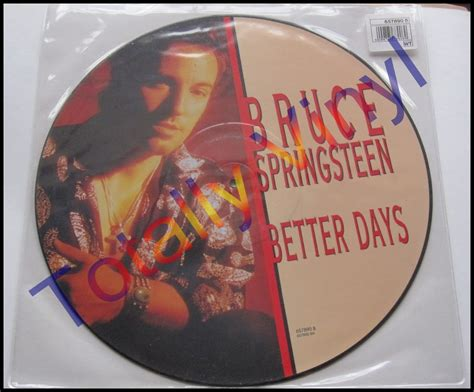bruce springsteen better days totally vinyl records springsteen bruce better days