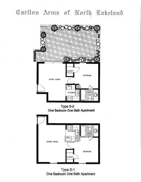 carlton arms lakeland floor plans 1 bedroom garden apartment 705 909 carlton arms of