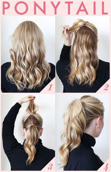 ponytail haircut where to position ponytail 25 best ideas about short ponytail hairstyles on