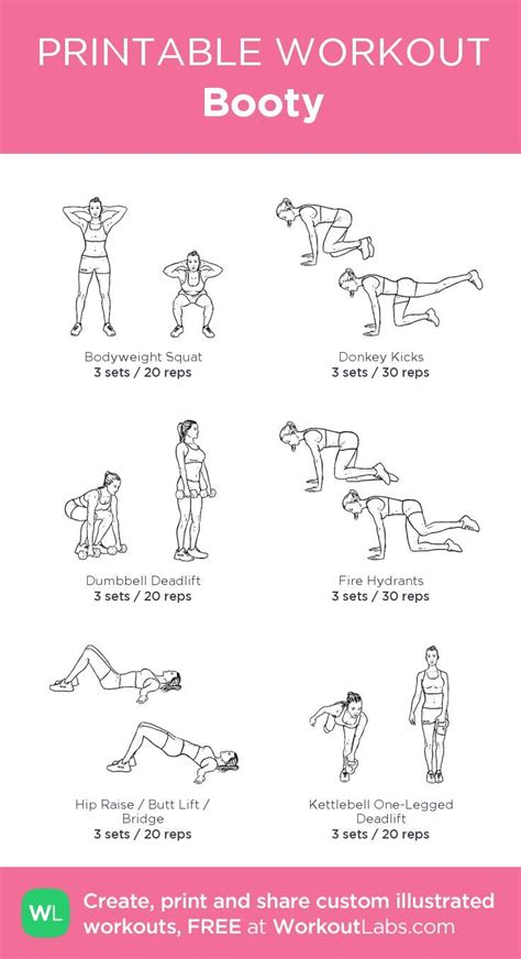 my custom printable workout by workoutlabs workoutlabs customworkout i