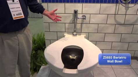 zurn toilets  bariatric wall bowl   ztrev