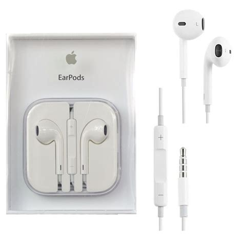 genuine apple earpods earphones with remote mic for iphone ipod 3 5mm 885909934102 ebay